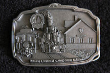 Durango Silverton Narrow Gauge Railroad Train Belt Buckle by Brew City Collect.