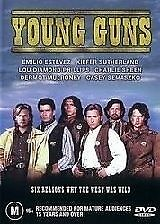 Young Guns (1988) Charlie Sheen, Kiefer Sutherland - NEW DVD - Region 4