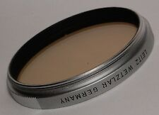 Leitz E-48 CF filter for M-mount lenses:  21mm Super-Angulon, f3.4 ( 1962-1980 )