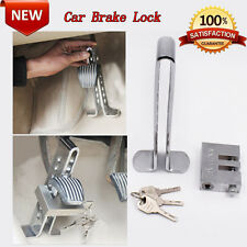 C03 Brake Pedal Lock Security For Car Auto S.S Clutch Lock Anti-theft Reliable
