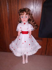 "Doll 20"" Hard Plastic Perfect condition vintage unknown brand ""20"" on neck"