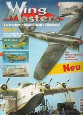 Wing Masters Nr. 1 April/Mai 1998 Luftfahrt *Modellbau*Historie
