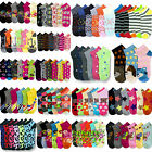 Wholesale Bulk Socks Lot Womens Size 9-11 Mixed Assorted Designs Colors Novelty