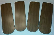 RV Travel Trailer Mororhome 12 Volt Ceiling Fan Replacement Blades - 4 Blades