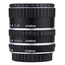 Andoer Metal TTL Auto Focus AF Macro Extension Tube Ring for Canon EOS EF U1I7