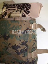 Made in USA marpat ILBE Rucksack Pack USMC Radio Utility POUCH holds 4 MREs USGI