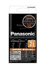 Panasonic Batteries Eneloop Pro Charger + 4 AA  Recharge Batteries 2500 mAh F/S