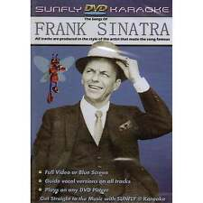Sunfly Karaoke DVD Frank Sinatra - Full Video Blue Options All Region Any Player
