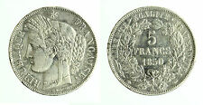 pcc1792_1) Francia - 5 Francs 1850 A KM# 761.1  - sold AS IS - SIGNS