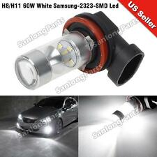 H8 H11 High Power 60W Samsung LED Fog Driving Light Bulb Aluminum X1