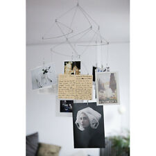 Kikkerland Modern Art Photo Clip GEOMETRIC HANGING Mobile 10 picture MH17