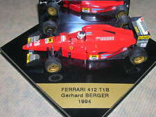 FERRARI 412 T1B BERGER 1994 ONYX  1/43 MADE IN PORTUGAL