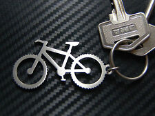 MOUNTAIN BIKE Cycling Soft Tail Cycle Keyring Keychain Key Stainless Steel Gift