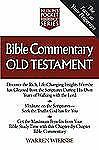 Pocket Reference: Bible Commentary Old Testament by TNP Staff and Warren...