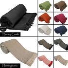 Luxury 100% Indian Cotton Sofa / Bed Throw Throw 9 Colours Giant Jumbo Size