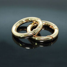 25mm Gold Snap Clip Trigger Spring Gate O Ring Keyring Buckle Bag Accessories