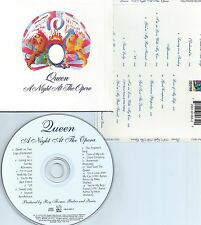 QUEEN-A NIGHT AT THE OPERA-1975/1991-USA-HOLLYWOOD REC.HR-61065-2-UML-CD-MINT-