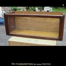 Antique Lundstrom Stacking Barrister Sectional Bookcase Section