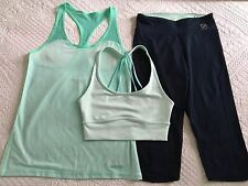 Super Comfy Hollister Gym Top, Sports Bra And Gilly Hicks Gym Pants Size XS