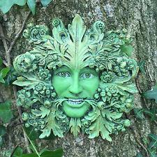 Green Man Giardino ornamentale COMANDANTE DI FOGLIE VERDE LEGNO COLLECTION NUOVO 09065