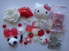 Deco Den Kit Red Hello Kitty Silver Crown iphone case 4375