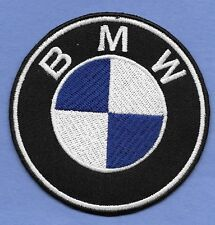 """New BMW Blue 3 """" Inch Iron on Patch Free Shipping"""