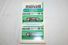 Maxell Personal Computer Cassettes 2-Pack CP15 Atari 400 VIC 20 TI 99/4