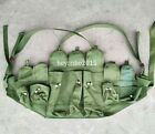 NEW ORIGINAL VIETNAM WAR CHINESE TYPE 56 AK CHEST RIG AMMO BANDOLIER POUCH