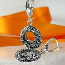 A557 Ohrringe Earrings 925 Silber Schmuck mit Swarovski Elements Crystal Xilion
