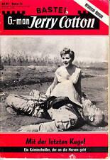"""Jerry Cotton Nr. 0071 ***Zustand 3*** """"1. Auflage"""""""