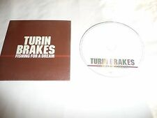 TURIN BRAKES Fishing For A Dream CD 3 Track Promo In Special Card Sleeve
