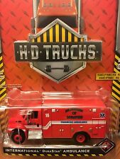 Greenlight  HD TRUCKS Memphis Fire Department  International Durastar Ambulance
