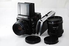 Mamiya RZ67 Medium Camera with 110mm  120 Film Back  tube No.2  Polaroid  #0698
