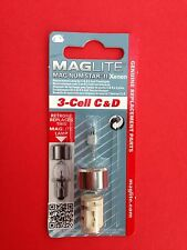 "MAGLITE Mag-Num Star II Xenon Bulb for 3-Cell C & D Torch ""NEW & SEALED"""
