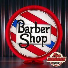 Barber Shop Pole Advertising Globe -  Made by Pogo's Garage