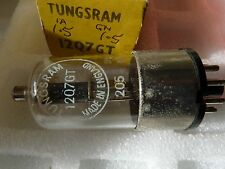 12Q7GT TUNGSRAM  NEW OLD STOCK  VALVE 1 PC O16