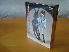 The Melancholy of Haruhi Suzumiya - Vol. 1 (DVD, 2008, Bundle Pack; 2 Bonus CDs)
