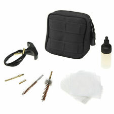 Condor 237 BLACK RECON Gun Cleaning Kit .223 Rifle Compact MOLLE Tool Pouch