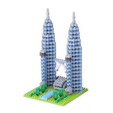 *NEW* NANOBLOCK Petronas Twin Towers - Building Blocks Nanoblocks Nano NBH-110