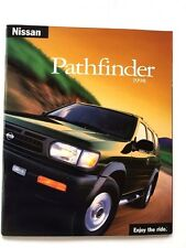 1998 Nissan Pathfinder 26-page Original Car Sales Brochure Catalog