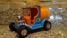 Rare vintage 1972 Tonka Track Duster Blue model T Water Tank hot rod c-cab truck