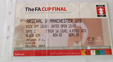 TICKET: FA CUP FINAL 2005: Man Utd v Arsenal - EXCELLENT