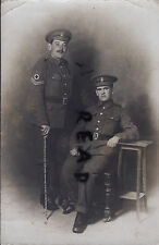 WW1 Soldier Tom N Cannon & Ben Morgan RAMC Royal Army Medical Corps in France