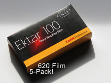 620 Roll Film - Kodak Ektar 100 (5-Pack)