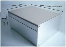 1pc  New Good 120*150*69mm electronic Instrument Metal box / Aluminum BOX