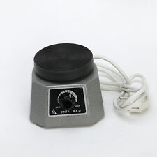 "Brand New Dental Lab Equipment Vibrator 4"" Round Shaker Oscillator 110V/220V"
