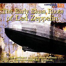NEW Early Blues Roots Of Led Zeppelin CD (CD) Free P&H