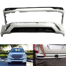 ABS Front+Rear Bumper Protector For Toyota Land Cruiser 2016 Middle East version