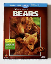 Disney Nature Bears Documentary Blu-ray DVD Digital Copy English French Spanish