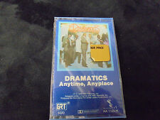 """""""SEALED"""" DRAMATICS """"ANYTIME, ANYPLACE"""" Cassette Tape"""